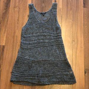 Eileen Fisher Loose Knit sleeveless Sweater Tunic